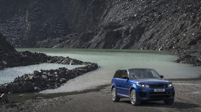 Range Rover Sport SVR. Foto: spothits/ampnet/Land Rover