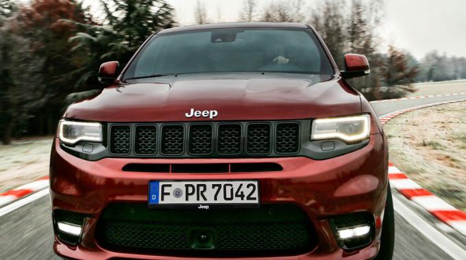 Jeep Grand Cherokee SRT. Foto: spothits/ampnet/FCA