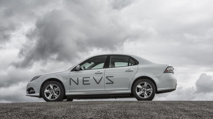 NEVS baut ab Ende des Jahres den Saab 9-3 EV in China. Foto: spothits/ampnet/NEVS