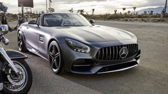 """Werbespot """"Easy Driver"""" von Mercedes-AMG. Foto: spothits/ampnet/Daimler"""