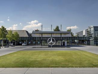 Mercedes-Benz Kundencenter. Foto: spothits/ampnet/Daimler
