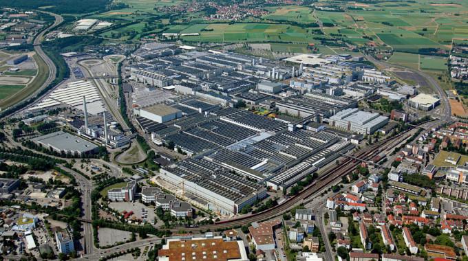 Mercedes-Benz-Werk Sindelfingen. Foto: spothits/ampnet/Daimler