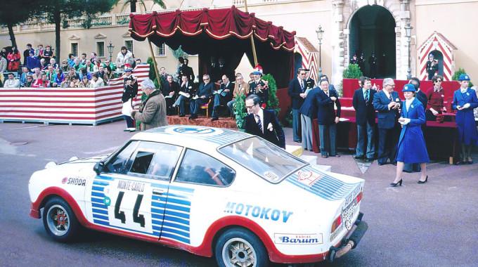"""Der Skoda 130 RS (""""Porsche des Ostens"""") zählte in den Jahren 1975 bis 1983 zu den erfolgreichsten Rennwagen seiner Klasse. Der Vierzylindermotor hatte eine Leistung von bis zu 103 kW / 140 PS. Foto: spothits/ampnet/Skoda"""