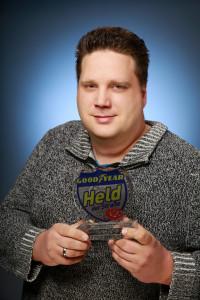 """Held der Straße"" des Monats Januar: Marc Sieck. Foto: spothits/ampnet/Goodyear"