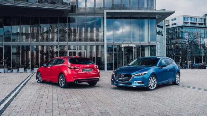 Mazda 3 mit Originalzubehör. Foto: spothits/ampnet/Mazda