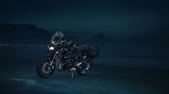 Yamaha MT-10 Tourer Edition am Start. Foto: spothits/Yamaha