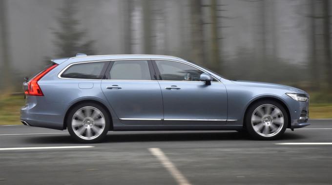 Volvo V90. Foto: spothits/ampnet/Bernhard Limberger