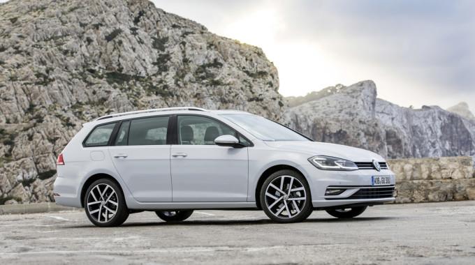 Volkswagen Golf Variant Highline. Foto: spothits/ampnet/VW