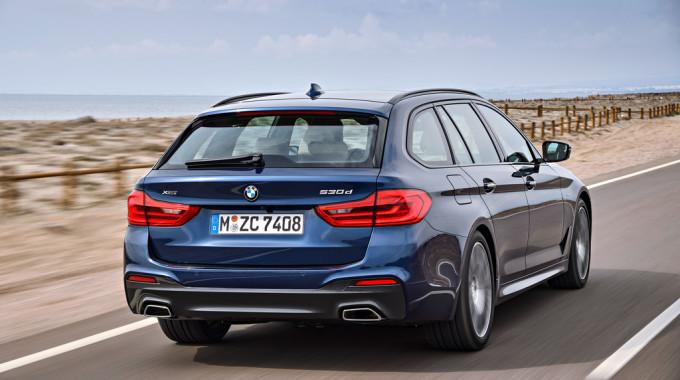 BMW 5er Touring. Foto: spothits/ampnet/BMW