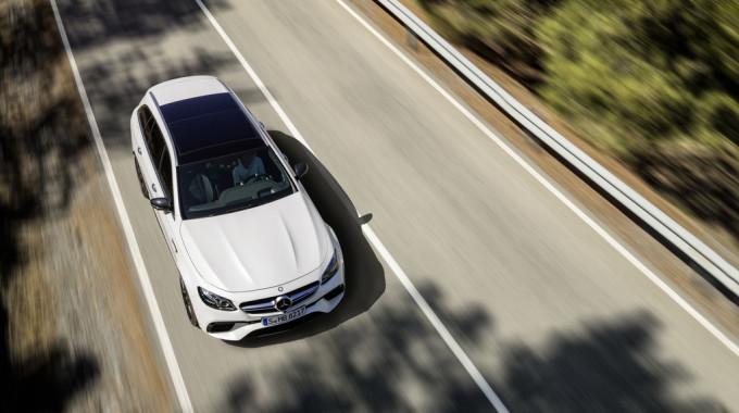 Mercedes-AMG E 63 4Matic+ T-Modell. Foto: spothits/ampnet/Daimler