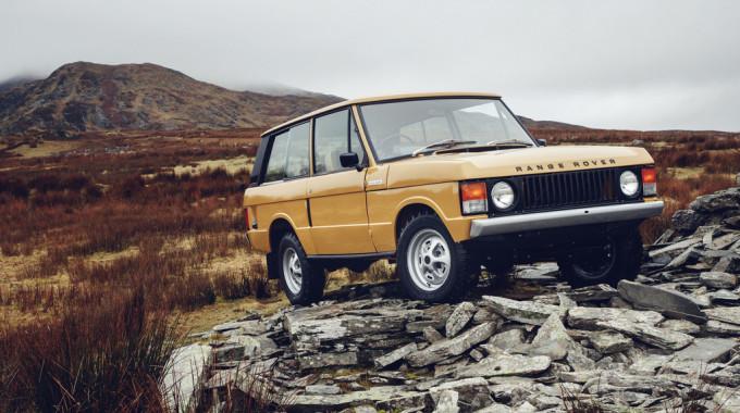 Range Rover I Reborn. spothits/ampnet/Land Rover