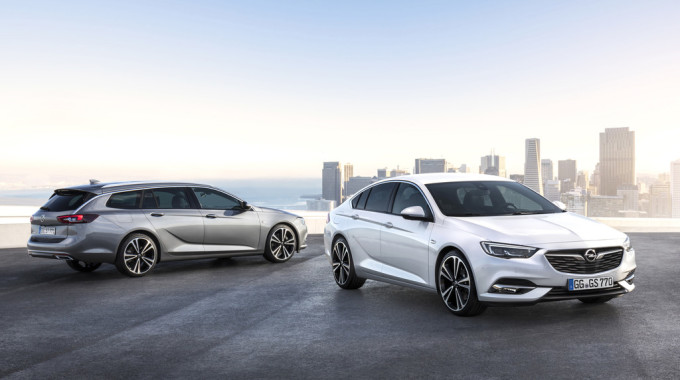 Opel Insignia Sports Tourer und Grand Sport. Foto: spothits/ampnet/Opel