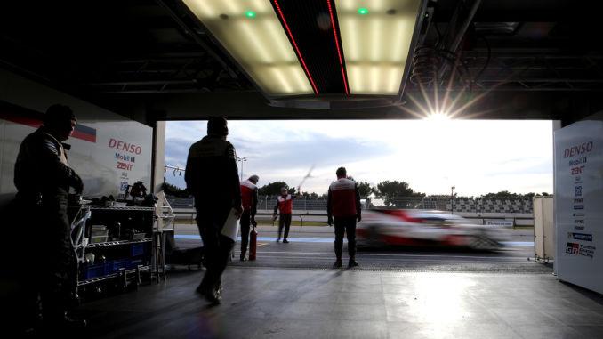 Toyota setzt zur Vorberetung auf Le Mans drei TS050 Hybrid bei ausgewählten Rennen der WEC 2017 ein. Foto: spothits/ampnet/Toyota
