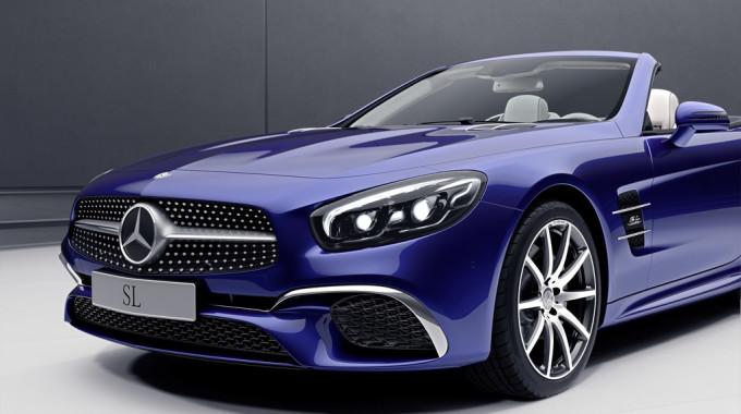 Mercedes-Benz SL Designo Edition. Foto: spothits/ampnet/Daimler