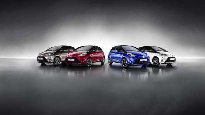 Toyota Yaris. Foto: spothits/ampnet/Toyota