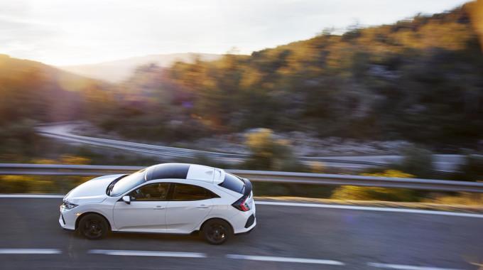 Honda Civic. Foto: spothits/ampnet/Honda