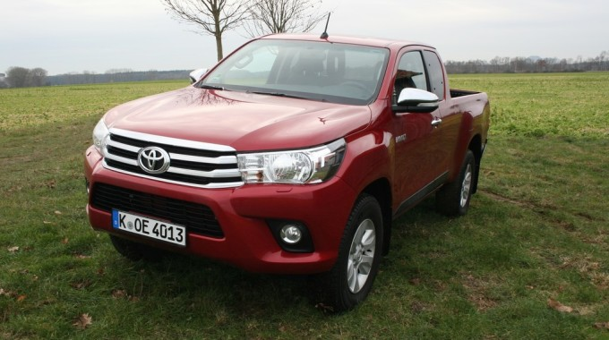 Toyota Hilux Extra Cab. Foto: spothits/ampnet