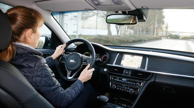 Kia Optima Plug-in Hybrid. Foto: spothits/ampnet/Axel F. Busse