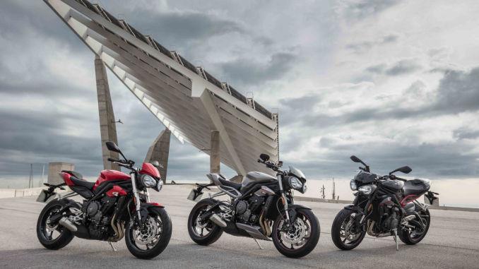 Triumph Street Triple mit neuem Dreizylinder. Foto: spothits/Triumph
