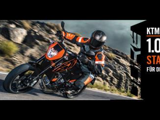 KTM 690 Duke: 1000 Euro Zuschuss bei Neukauf. Foto spothits/KTM