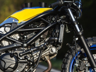 Suzuki SV650: Customizing Wettbewerb beginnt. Foto: spothits/Suzuki