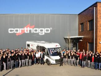 Carthago fertigte 15.000 Reisemobile in Odranci/Slowenien. Foto: spothits/Carthago