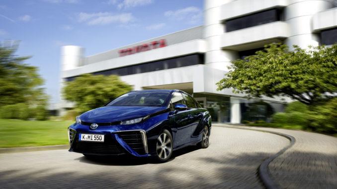 Toyota Mirai: Top-Ergebnis bei ADAC EcoTest. Foto: spothits/Toyota
