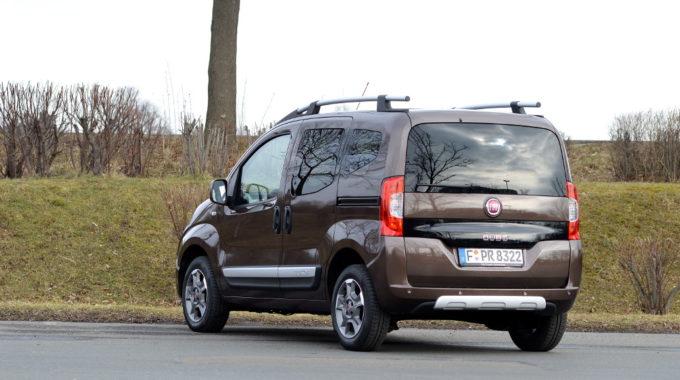 Test Fiat Qubo Trekking 1.3 Multijet. Foto: spothits