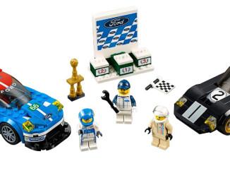 Ford GT40 und Ford GT: Rennfahrzeuge als Lego-Bausatz. Foto: spothits/Ford