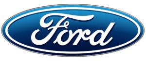 Ford investiert 600 Mio. Euro in Standort Deutschland. Logo: Ford