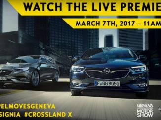Genf 2017: Livestream – Opel Insignia Premiere: Foto: spothits/Opel