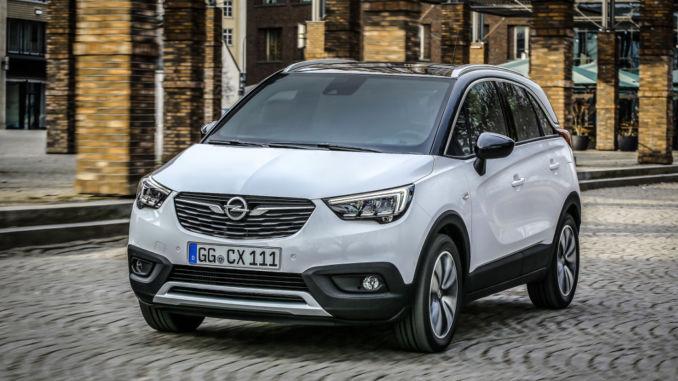 Opel Crossland X startet bei 16.850 Euro. Foto: spothits/Opel