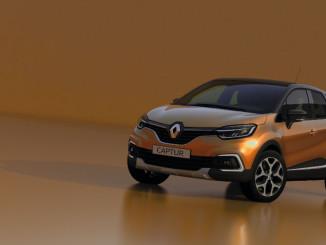 Genf 2017: Renault frischt Captur auf. Foto: spothits/Renault