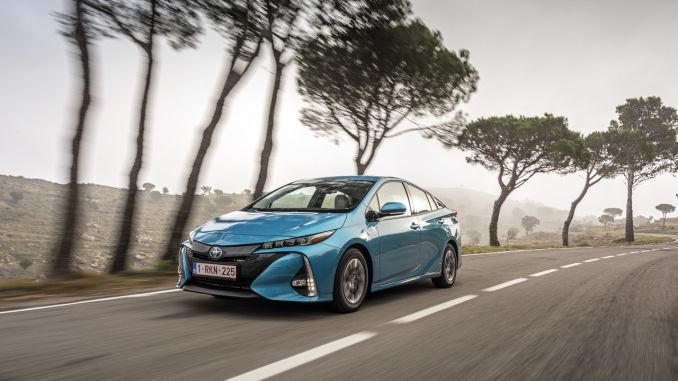 Toyota Prius Plug-in Hybrid mit Bestwerten bei Crashtest. Foto: spothits/Toyota