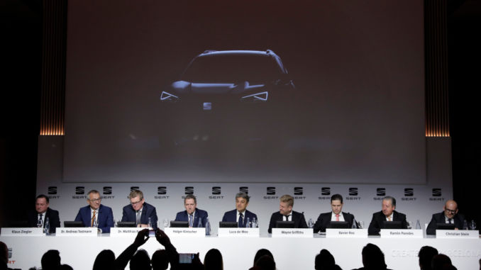 Seat Arona: Neues SUV kommt 2018. Foto: spothits/Seat