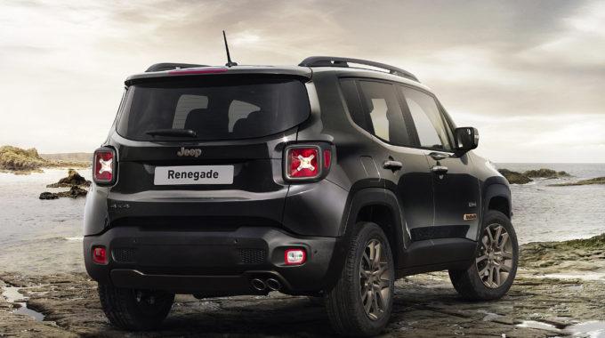 Jeep Renegade: Sondermodell 75th Anniversary. Foto: spothits/Jeep