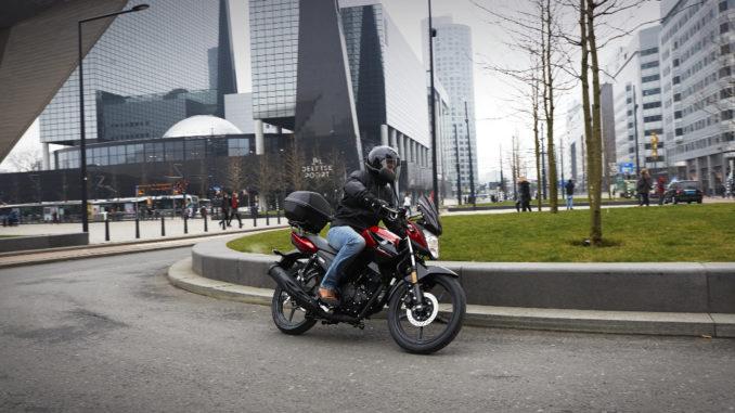 Yamaha YS125: Sportliches Pendler-Bike. Foto: spothits/Yamaha