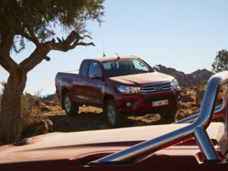 Toyota Hilux ist Allrad-Auto 2017 unter den Importmarken. Foto: spothits/Toyota
