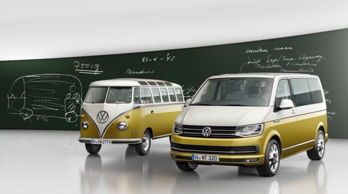 VW Bulli feiert Geburtstag. Foto: spothits/ampnet/VW