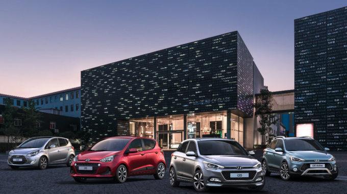 Hyundai Yes! Sondermodelle des i10, i20 und ix20. Foto: spothits/Hyundai