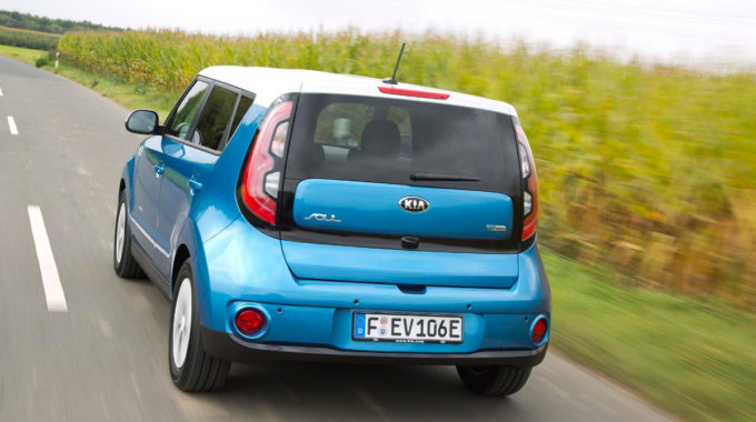 Kia Soul EV: Bis zu 250 km rein elektrisch. Foto: spothits/Kia
