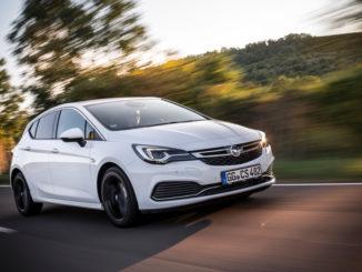 Opel Astra mit adpativem Geschwindigkeitsregler ACC. Foto: spothits/Opel