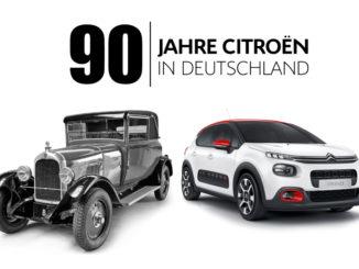 Techno Classica: Citroen feiert 90-jähriges Jubiläum. Foto: spothits/Citroen
