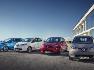 Renault Spitzenreiter bei Elektroauto-Zulassungen. Foto: spothits/Renault