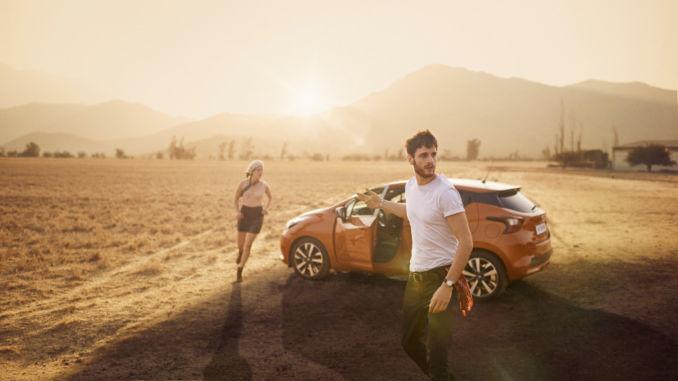 Nissan-Kampagne zum Start des neuen Micra. Foto: spothits/Nissan