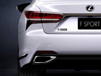 Lexus LS F-Sport feiert Weltpremiere in New York. Foto: spothits/Lexus