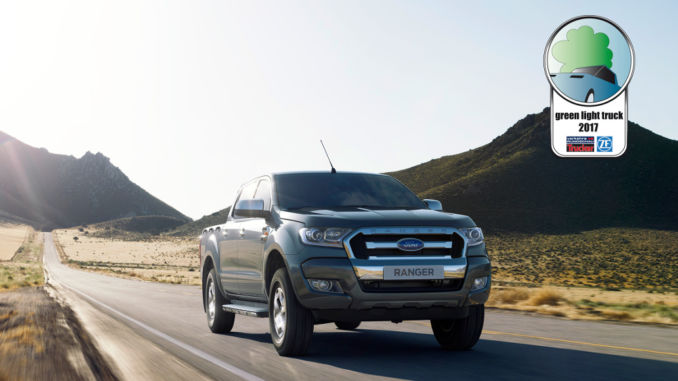 Ford Ranger 2.2 l TDCi ist umwelfreundlichster Pick-up. Foto: spothits/Ford