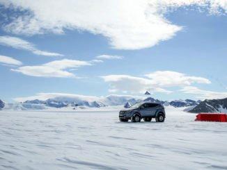 Hyundai Santa Fe durchquert die Antarktis. Foto: spothits/Kia
