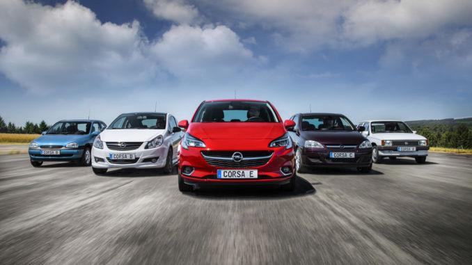 Opel Corsa: 750.000 Bestellungen liegen vor. Foto: spothits/Opel