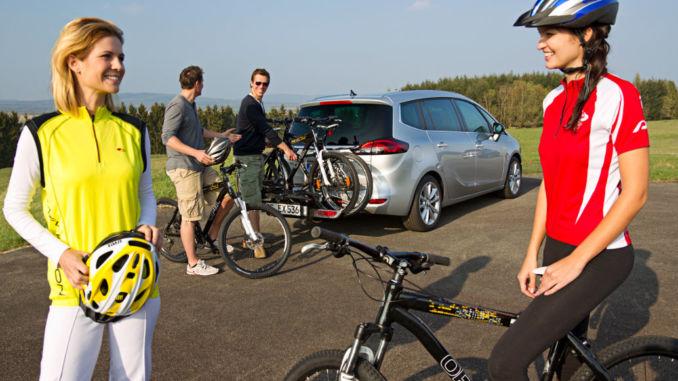 Opel FlexFix Fahrradträgersystem für Adam, Corsa, Mokka X und Zafira. Foto: spothits/Opel